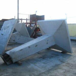 Фундамент под металлические опоры АФ5